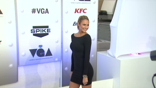 Stacy Keibler at Spike TV's 2011 Video Game Awards on in Los Angeles CA