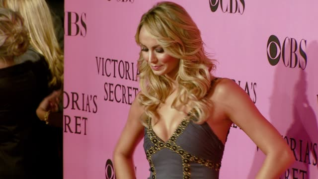 Stacy Keibler at the 12th Annual Victoria's Secret Fashion Show at the Kodak Theatre in Hollywood California on November 15 2007