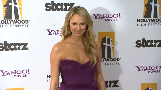 Stacy Keibler at the 15th Annual Hollywood Film Awards Gala at Beverly Hills CA