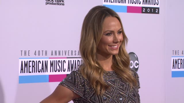Stacy Keibler at The 40th American Music Awards Arrivals on in Los Angeles CA
