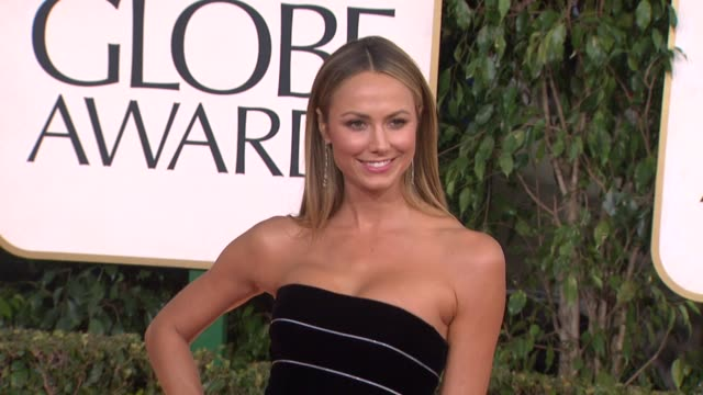 Stacy Keibler at the 70th Annual Golden Globe Awards Arrivals in Beverly Hills CA on 1/13/13