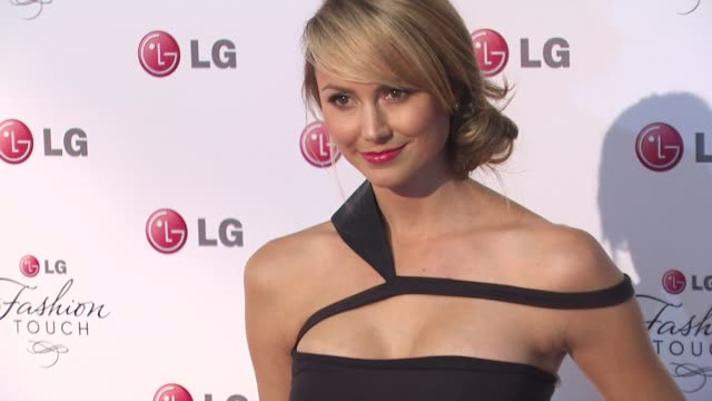 Stacy Keibler at the A Night Of Fashion And Technology With LG Mobile Phones at West Hollywood CA