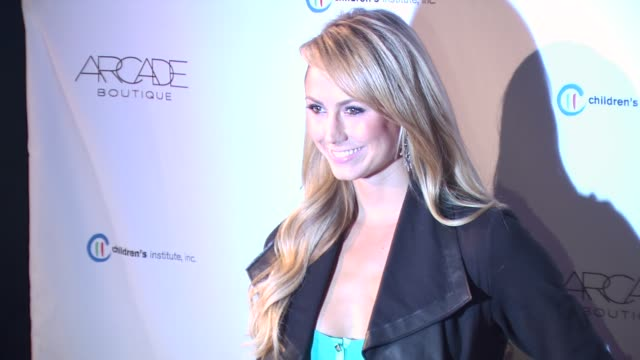 Stacy Keibler at the ARCADE Boutique Hosts The Autumn Party Benefiting Children's Institute Inc at West Hollywood CA