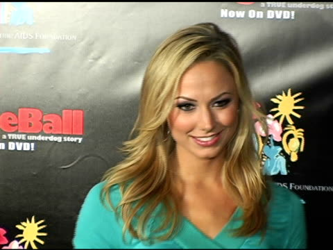 Stacy Keibler at the Dodgebal The Celebrity Tournament at Hollywood Palladium in Hollywood California on December 8 2004