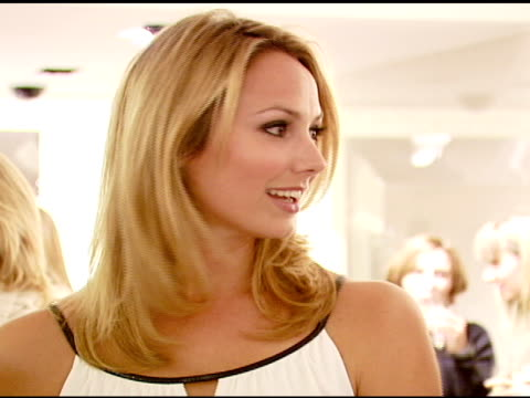 Stacy Keibler at the Elie Tahari Celebrates Opening of New Boutique Within Saks Fifth Avenue Benefiting the Alliance For Children's Rights at Saks...