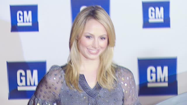 Stacy Keibler at the GM Ten Event at Paramount Stage 16 in Los Angeles California on February 20 2007