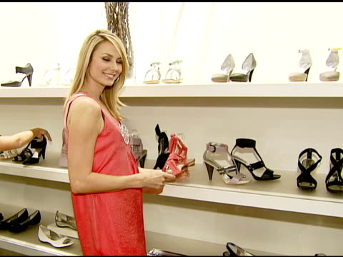 Stacy Keibler at the Kenneth Cole NY Celebrates the Awearness Fund at the KC Store in the Beverly Center in Los Angeles California on April 4 2008
