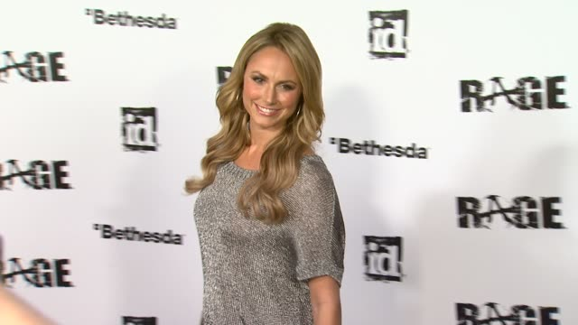 Stacy Keibler at the 'Rage' Video Game Launch Party at Los Angeles CA