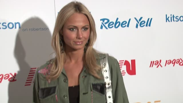 Stacy Keibler at the Rebel Yell Spring Launch arrivals at Kitson in Los Angeles California on February 19 2006