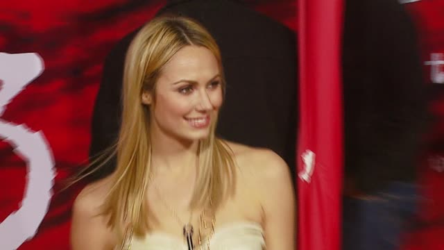 Stacy Keibler at the 'The Number 23' Premiere at the Orpheum in Los Angeles California on February 13 2007