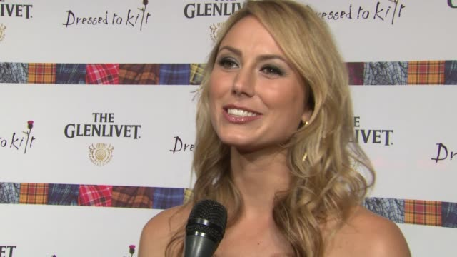 Stacy Keibler describes the dress she'll wear during the show what she is looking forward to experiencing talks about her modeling days at the 9th...