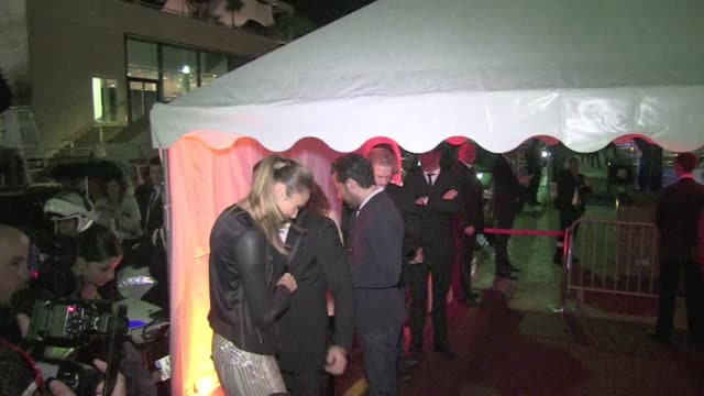 stacy keibler, george clooney's ex girlfriend at the cavalli boat party, cannes cannes, france, may 22nd 2013 - festival del cinema video stock e b–roll