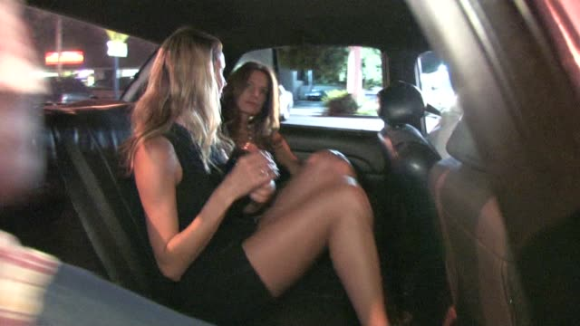 Stacy Keibler leaving Voyuer in West Hollywood at the Celebrity Sightings in Los Angeles at Los Angeles CA