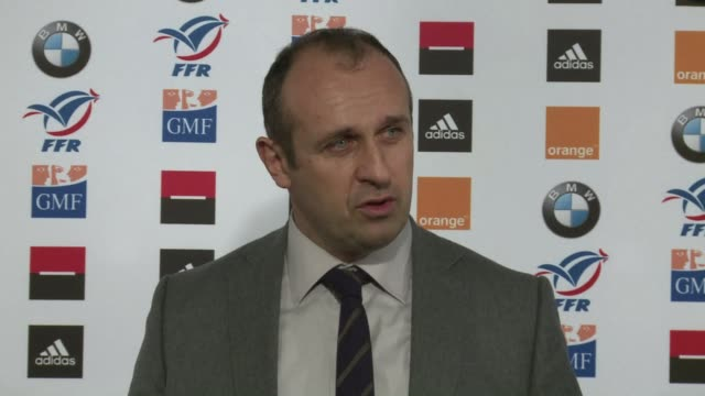 stade francais saw their surging top 14 form rewarded when a trio of uncapped players were on monday called up for france's six nations squad notably... - nationalmannschaft stock-videos und b-roll-filmmaterial