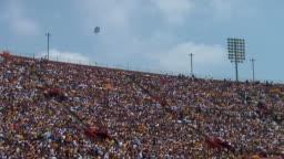 Stadium Crowd Angle