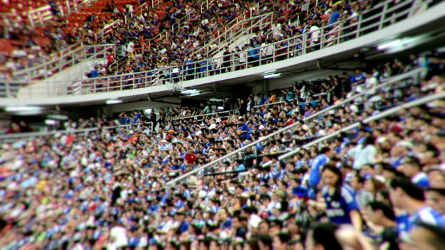 stadium crowd tiem lapse - stadium stock videos & royalty-free footage
