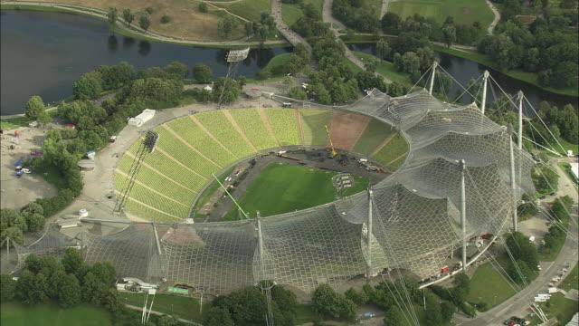 AERIAL Stadium in Olympiapark, Munich, Bavaria, Germany