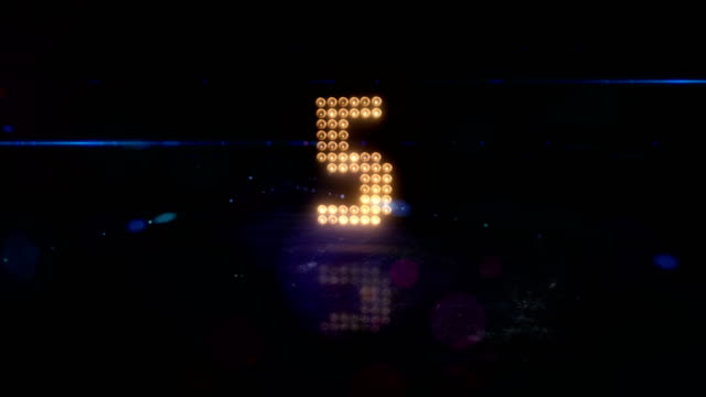 stadium lights countdown. sports cheering - countdown stock videos & royalty-free footage