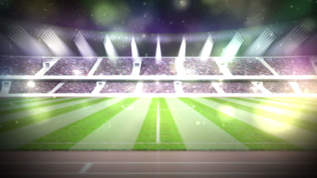 stadium - digital animation stock videos & royalty-free footage