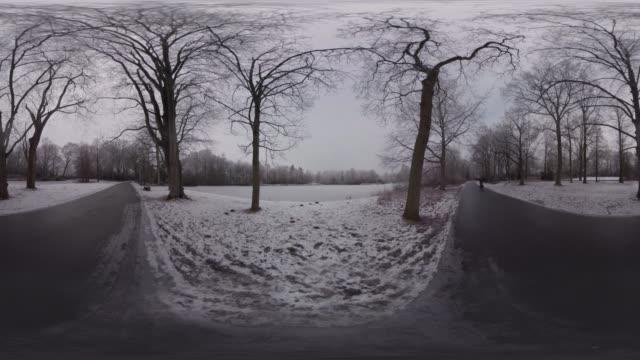 stadspark - monoscopic image stock videos & royalty-free footage