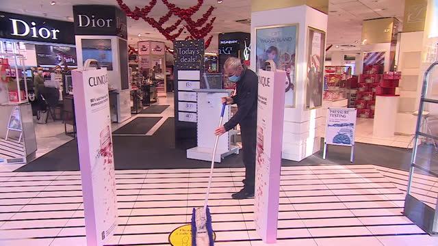 staff arriving at work at debenhams department store as the business has gone into administration - clothes shop stock videos & royalty-free footage