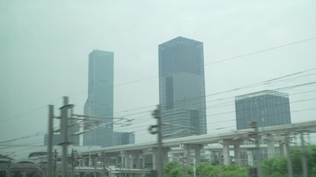 Staff member of Foreign Office missing after border crossing to Shenzhen CHINA Shenzhen View of Shenzhen from approaching train