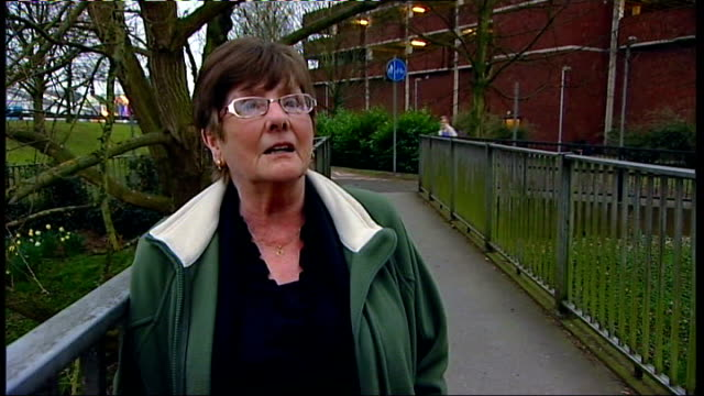 stafford hospital condemned by nhs watchdog daffodils christine daziel interview sot - stafford england stock videos and b-roll footage