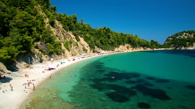 Stafilos beach, Skopelos island, Greece