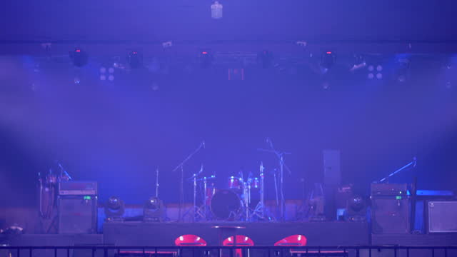 stage at break have no people - stage performance space stock videos & royalty-free footage