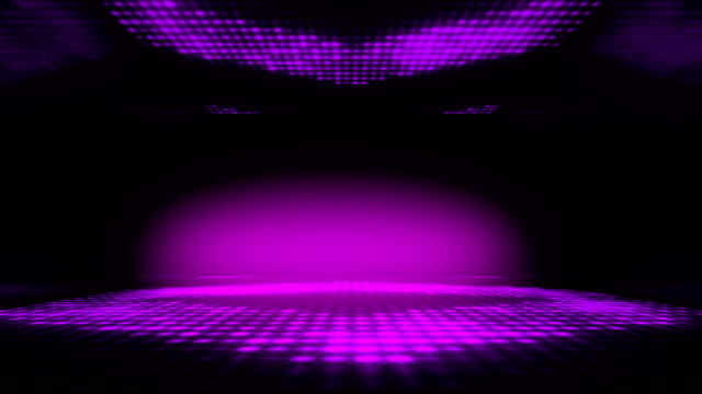 stage club led lighting dance background. seamless loop. - glamour stock videos & royalty-free footage
