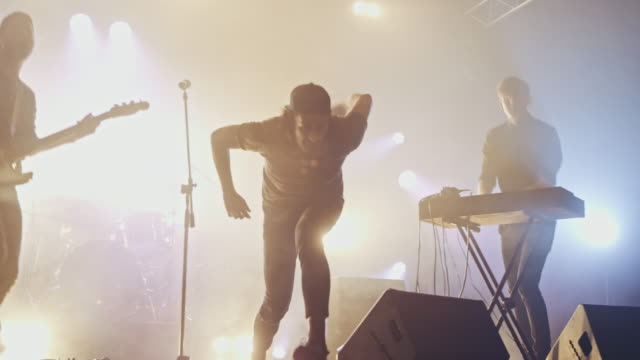 stage diving - rocking stock videos & royalty-free footage