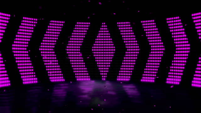 stage led light dance - 4k quality - seamless loop stock video - scoring stock videos & royalty-free footage