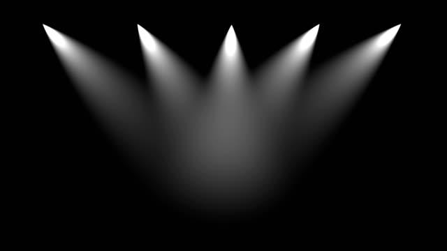 stage light   lighting equipment - spotlight stock videos & royalty-free footage