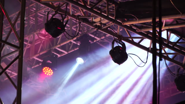 stage light - rock music stock videos & royalty-free footage