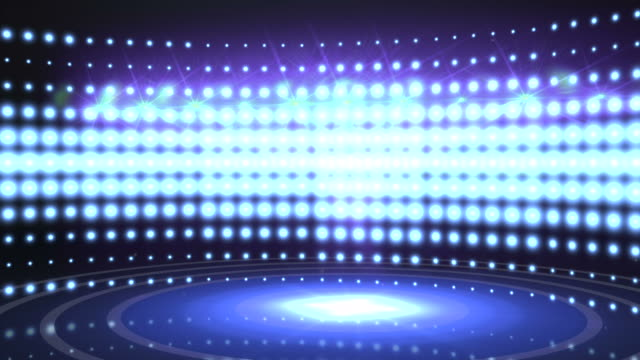 stage light wall. hd - sports round stock videos & royalty-free footage