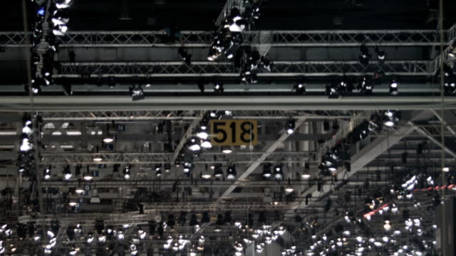stage lighting system - scaffolding stock videos and b-roll footage