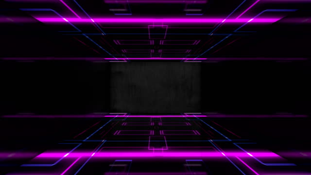 stage lights led abstract colorful background disco spectrum lights concert seamless loop - diminishing perspective stock videos & royalty-free footage