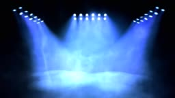 Stage lights turning on and off. Seamless looping animation.