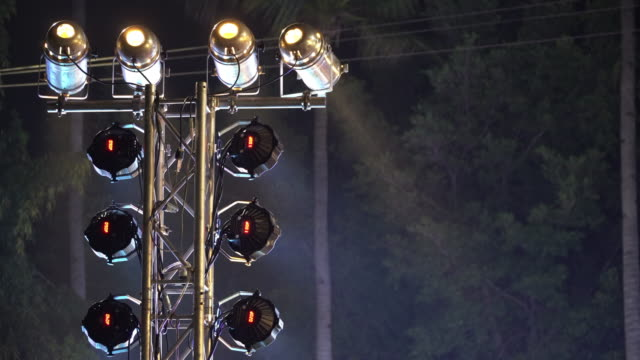stage lights - stage light stock videos and b-roll footage