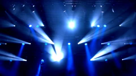 vídeos y material grabado en eventos de stock de luces de escenario. - luces estroboscópicas