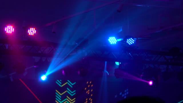 ステージライト - ディスコダンス点の映像素材/bロール
