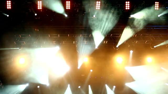 vídeos y material grabado en eventos de stock de luces de escenario - luces estroboscópicas