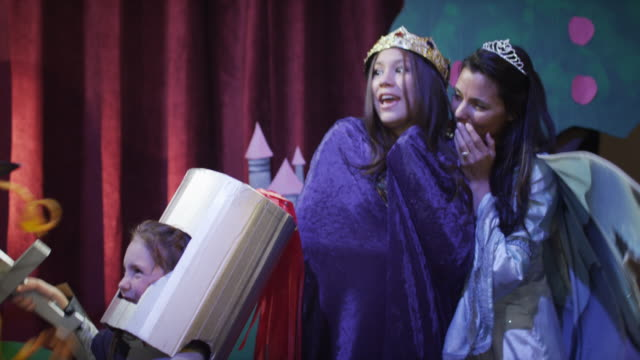 ms stage performance with adults and kids (6-15) / lehi, utah, usa - performing arts event stock videos and b-roll footage