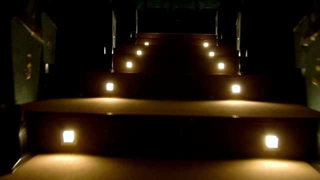 stage stairs lights tracking shot - oscar party stock videos & royalty-free footage