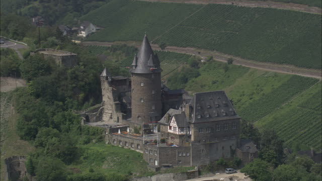 stahleck castle - upper palatinate stock videos & royalty-free footage