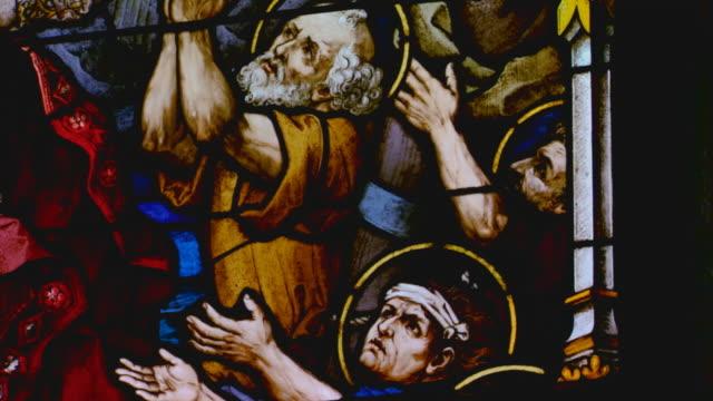 stained glass window - 使徒点の映像素材/bロール
