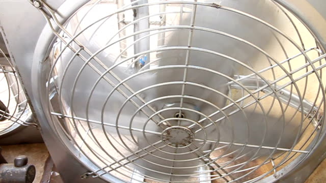stainless steel fan. - fan enthusiast stock videos & royalty-free footage