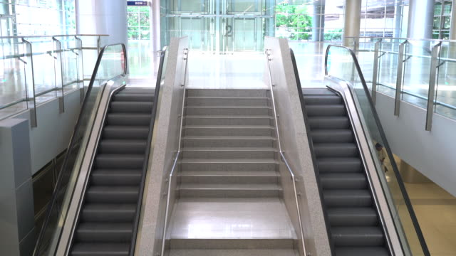 stair and escalator