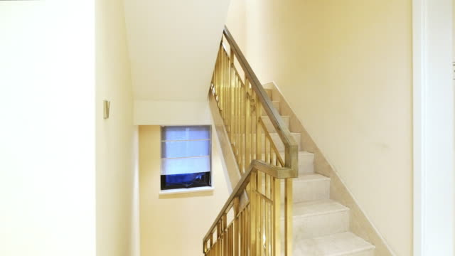stair hall interior - scale video stock e b–roll
