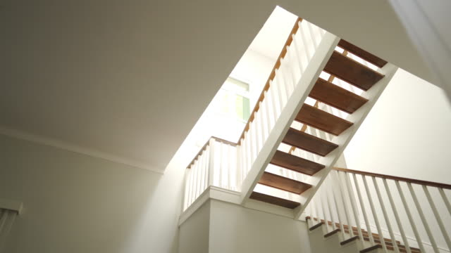 staircase in nursing home - staircase stock videos & royalty-free footage
